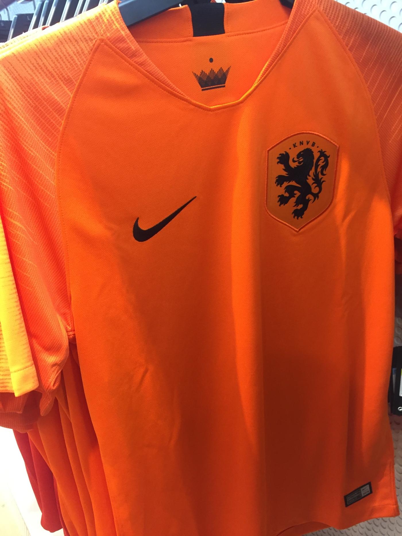 fceca1753 Nike Non-World Cup Jerseys  2018 Netherlands Home Kit – New Shark City