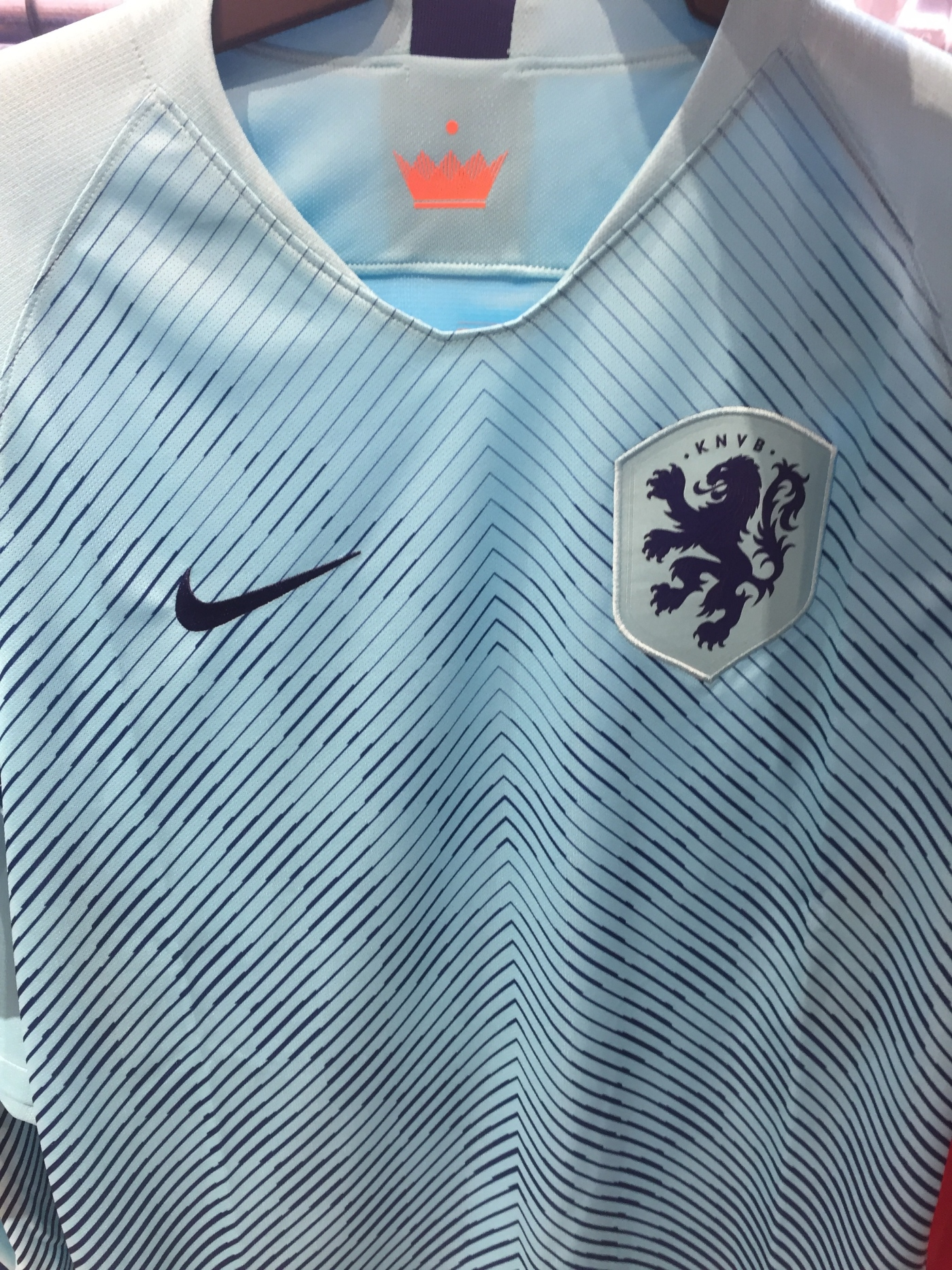 detailed look cfd32 bd391 Nike Non-World Cup Jerseys: 2018 Netherlands Away Kit – New ...