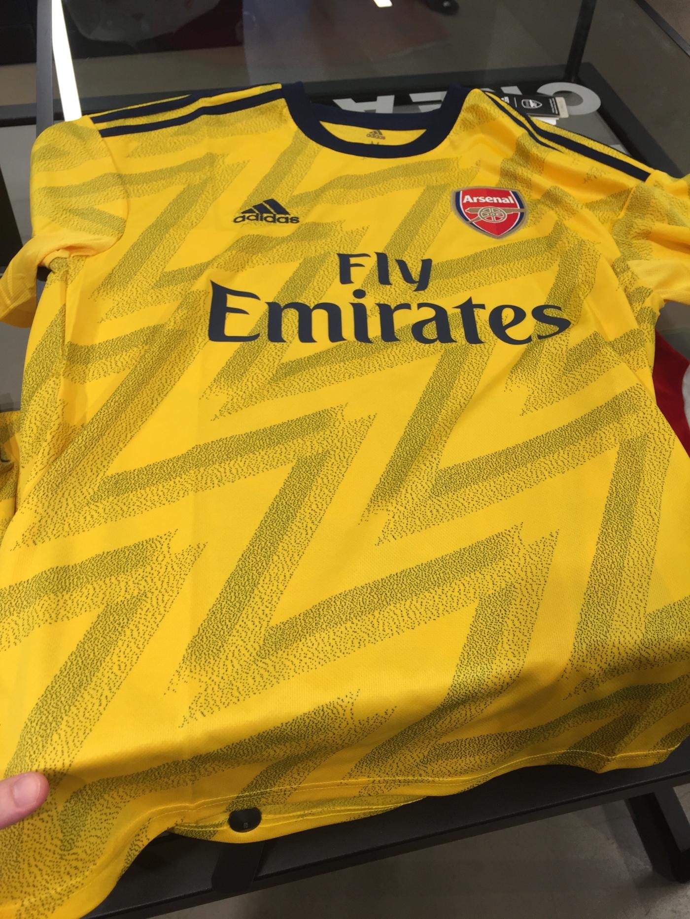 Adidas Away Jerseys 2019 2020 Arsenal Away Kit New Shark City